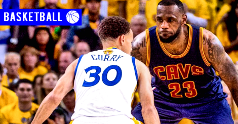 160602 - Steph Curry LeBron James