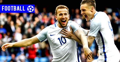 160610 - Harry Kane and Jamie Vardy