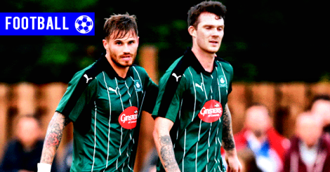 160804 - Plymouth David Goodwillie